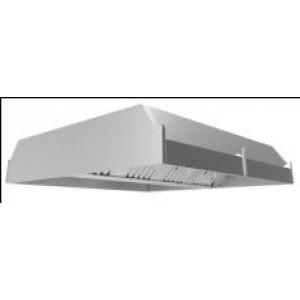 Зонт вентиляционный вытяжной центральный (полностью нерж.сталь)