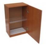 Шкаф для посуды навесной с сушилкой под тарелки и стаканы.