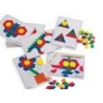 Пособие - карточки для мозаики