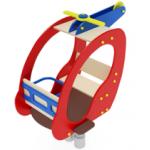 Качалка на пружине Вертолетик ИО 221