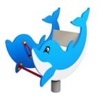 Качалка на пружине Дельфинчик ИО 203