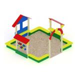Песочный дворик теремок ИО 538
