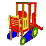 Трактор с горкой 3,4*1,25*2,5