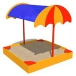 Песочница «Зонтик»              1,9*1,9*2,1