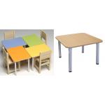 Стол детский квадратный регулир.  Размер: 800*800
