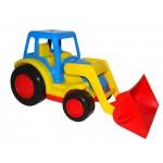 Трактор Базик, погрузчик