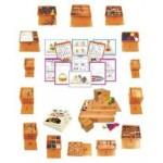 Игровой набор «Дары Фребеля» 14 модулей и 6 пособий