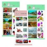 Комплект 10 карточек «Обучающий калейдоскоп® для ДО. Познание. Мой мир»