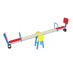 Качалка-балансир со спинкой                                           2500х450х820