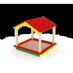 Песочный дворик домик                                           1870х1930х2000
