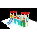 Детский игровой комплекс                          Королевство Горка 900                                           3100х2880х2730