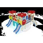 Детский игровой комплекс                           Королевство Горка 900                                           3960х4410х2730