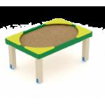 Песочница Забота солнышко 1000                                           1050х1550х1000
