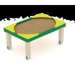 Песочница Забота солнышко 800                                           1050х1550х800