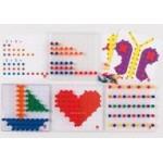 Мозаика Peg Board с прозрачными досками и картинками (4 прозрачные доски, 15 двусторонних картинок, 600 pegs в 6ти цветах)                                                                    новинка!!!