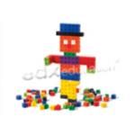 Кубики соединяющиеся 2см. 10 цветов 1000 шт. Категория: 3 +