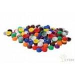 Фишки для счета (20 мм, 10 цветов, 500 шт) в пластмассовом контейнере