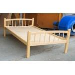 Кровать детская Лапушка  Массив, лак, ложе фанера 8мм h –124/134/144*64