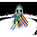 Детский игровой комплекс                           Космопорт  Горка 2000, 750                                           4180х4320х4720