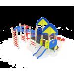 Детский игровой комплекс                            Космопорт Горки 1200, 750                                           4640х5740х3470