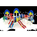Детский игровой комплекс                           Космопорт Горка 1200                                           7630х6730х4220