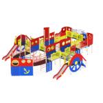 Детский игровой комплекс                           Пароход Горки 1200, 1500, 2000                                           15050х9680х4000