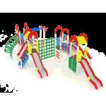 Детский игровой комплекс                           Дворик детства  Горка 1200                                           9260х6840х3000