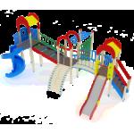 Детский игровой комплекс                           Дворик детства Горки 1200, 2000                                           8450х5820х4000