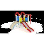 Детский игровой комплекс                           Играйте с нами Горка 1200                                           4380х4110х3000