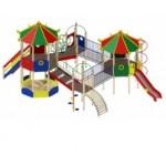 H=1200 Детский Игровой комплекс «Карнавал  9590х7880х5150