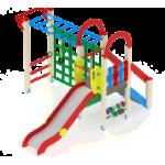 Детский игровой комплекс                            Играйте с нами Горка 1200                                           4380х3540х3000