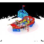 Детский игровой комплекс                           Фрегат Горки 1500, 2000                                           13260х9110х9500