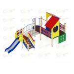 H=900 Детский игровой комплекс «Теремок»  6360х3380х3030