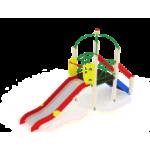 Детский игровой комплекс                          Навина Горка 1200                                           4380х1000х3200