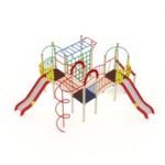 Детский игровой комплекс                           Навина Горка 1200                                           6880х5760х3200