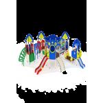 Детский игровой комплекс                           Космопорт Горка 1200, 750                                           9050х8340х3470