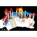 Детский игровой комплекс                           Рада Горка 1200                                           5710х6860х3000