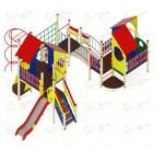 H=1200 Детский игровой комплекс «Теремок» 10360х6060х3300