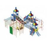 H=2000 H=1200 H=900 Детский игровой комплекс «Волшебный город»                                      11410х9870х4700