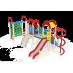 Детский игровой комплекс                           Рада Горка 1200                                           4910х7400х3000