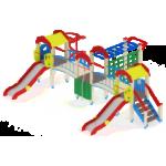 Детский игровой комплекс                           Городок Горка 1200                                           7140х5760х3000