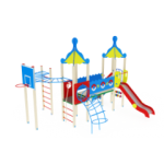 Детский игровой комплекс                           Морской Горка 1500                                           6225х5470х4220