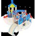 Детский игровой комплекс                          Морской Горка 1500                                           6160х5010х4220