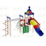 H=1500  Детский игровой комплекс «Волшебный город»  5780х6020х4200