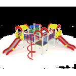 Детский игровой комплекс                           Городок Горка 1200                                           6650х5800х3000