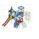 H=1200  Детский игровой комплекс «Волшебный город»  6350х6290х4200