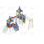 H=1500 Детский игровой комплекс «Волшебный город»                                       7880х6660х4200