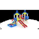 Детский игровой комплекс Морской Горка 1500 5000х4750х4220
