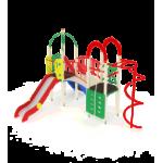 Детский игровой комплекс                           Навина Горка 1200                                           4380х4850х3200