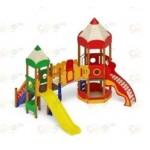 Н=1200 Детский игровой комплекс «Карандаши»  4830х4370х4000